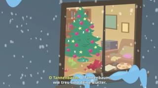 Песенка на немецком языке про елочку