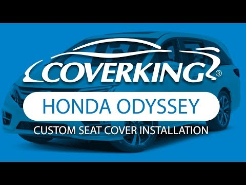 How To Install 2018-2020 Honda Odyssey Custom Seat Covers | COVERKING®