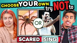 INTERACTIVE TRY NOT TO CHALLENGE (Try Not To Laugh, Sing, Get Scared)