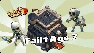 Clash of clans - Failtage 7 (Eat, Sleep, Fail Repeat)