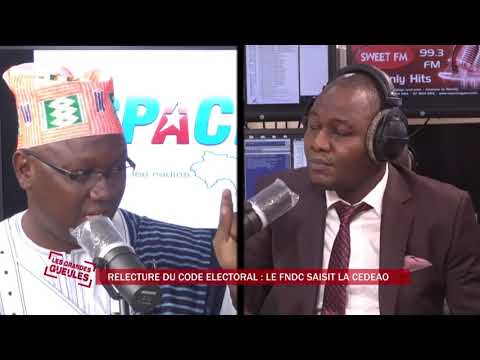 PROJET DE RELECTURE DU CODE ELECTORALE : LE FNDC SAISI LA COUR DE JUSTICE DE LA CEDEAO - GG 20200604