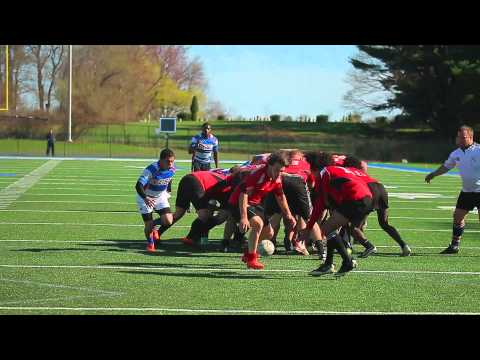 CCSU Hooligan Rugby vs Mitchell College 4/25/2015