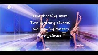 Dance Moms - Two Sapphires Lyrics