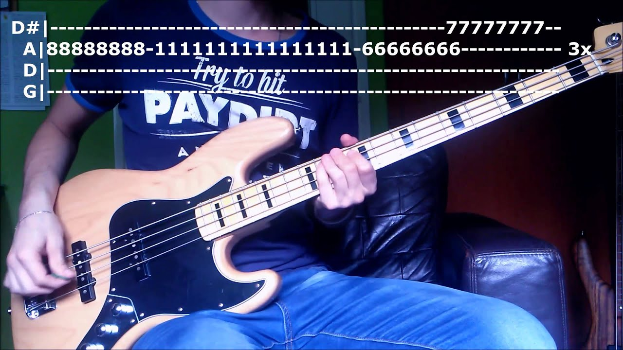 Castle Of Glass Bass Tabs