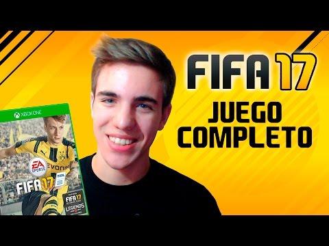 JUGANDO FIFA 17 JUEGO COMPLETO EN DIRECTO !! TODOS LOS MODOS NUEVOS !!