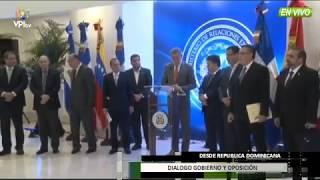 Venezuela - Este fue el resultado del tercer dia de Dialogo del Gobierno y la Oposición