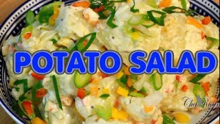 Stop!! How To Make The Best Ever Potato Salad ! Jamaica Way | Recipes By Chef Ri
