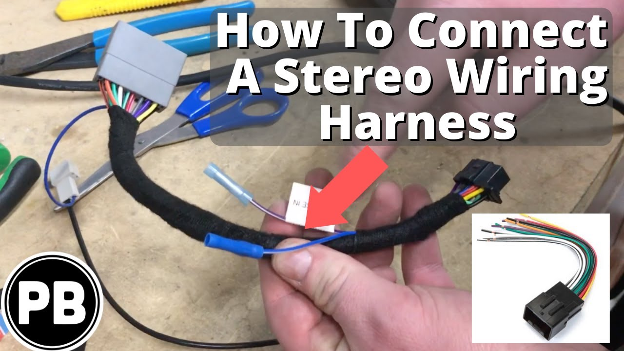 Stereo Wiring Harness Explained  How To Assemble One