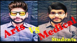 Science Vs Arts Students | Hunter Boyzz |Medical Courses