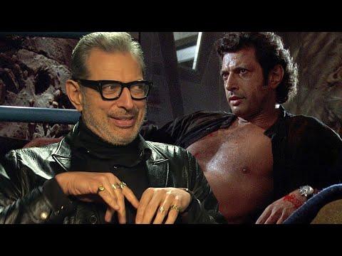 Jeff Goldblum Breaks Down THAT Shirtless  From Jurassic Park