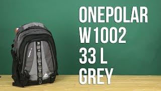 Розпакування Onepolar W1002 33 л Grey