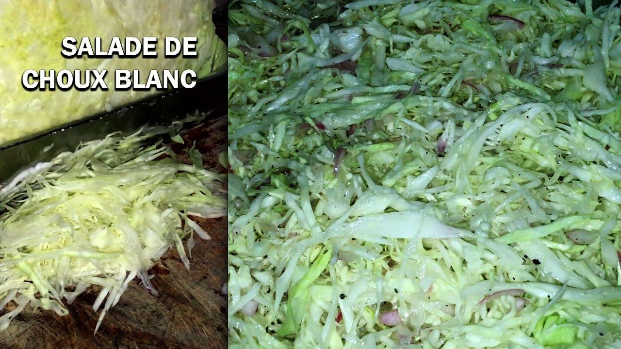 Salade De Choux Blanc Facile Et Tres Simple A Faire Youtube