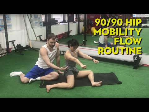 Hip Mobility flow 90/90 FRC/ Kinstretch