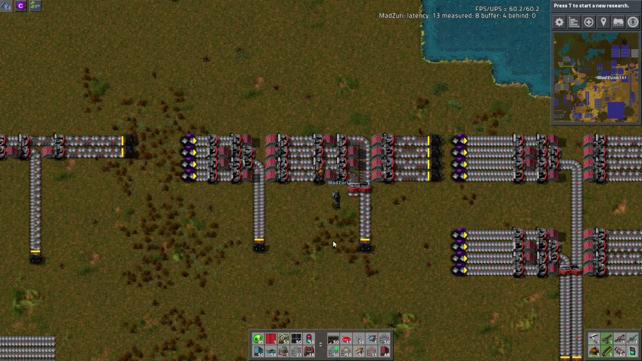 Factorio Workshop - Building A Better Factory :: Lane Split Off Designs