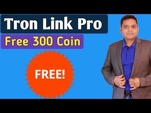 Earn Free 300 , Code: B4Wm Token From TRON LINK PRO (In Hindi )