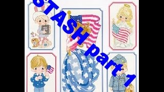 Cross Stitch Flosstube #10 Pattern Stash 1