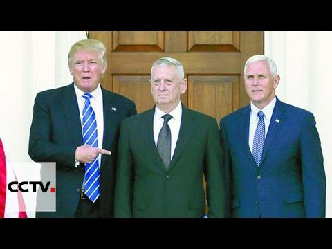 Trump nominates James Mattis as defense secretary