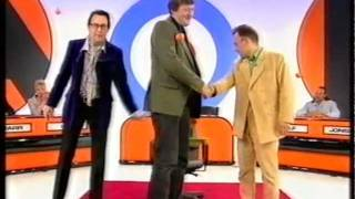 Stephen Fry taking the Final Challenge on Shooting Stars