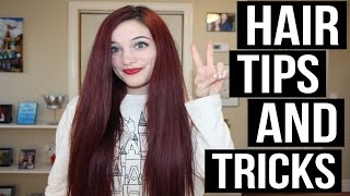 HOW TO GROW LONG AND HEALTHY HAIR | TIPS & TRICKS