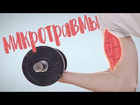 Что происходит с мышцами после тренировки когда они болят