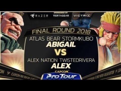 AB Stormkubo (Abigail) vs. AN Twisted Rivera (Alex) - Pools - Final Round 2018 - SFV - CPT 2018