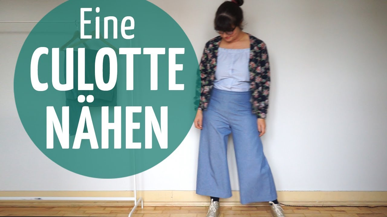 diy culotte selber n hen schnittmuster erstellen youtube. Black Bedroom Furniture Sets. Home Design Ideas