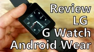 Smartwatch Review: LG G Watch Running Android Wear 5.0 Lollipop(, 2015-01-26T16:45:40.000Z)