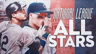 NATIONAL LEAGUE ALL-STAR TEAM BUILD! MLB THE SHOW 18!