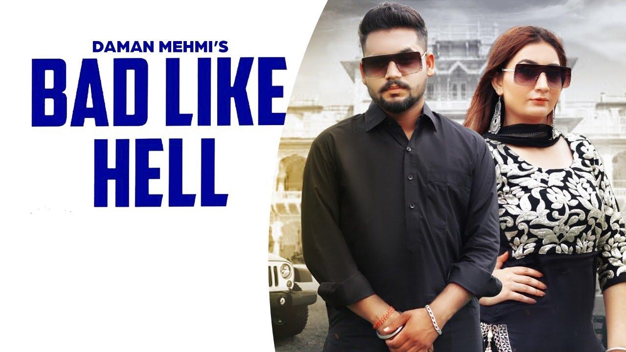 Bad Like Hell | (Full HD) | Daman Mehmi | Latest Punjabi Songs 2020 | Jass Records