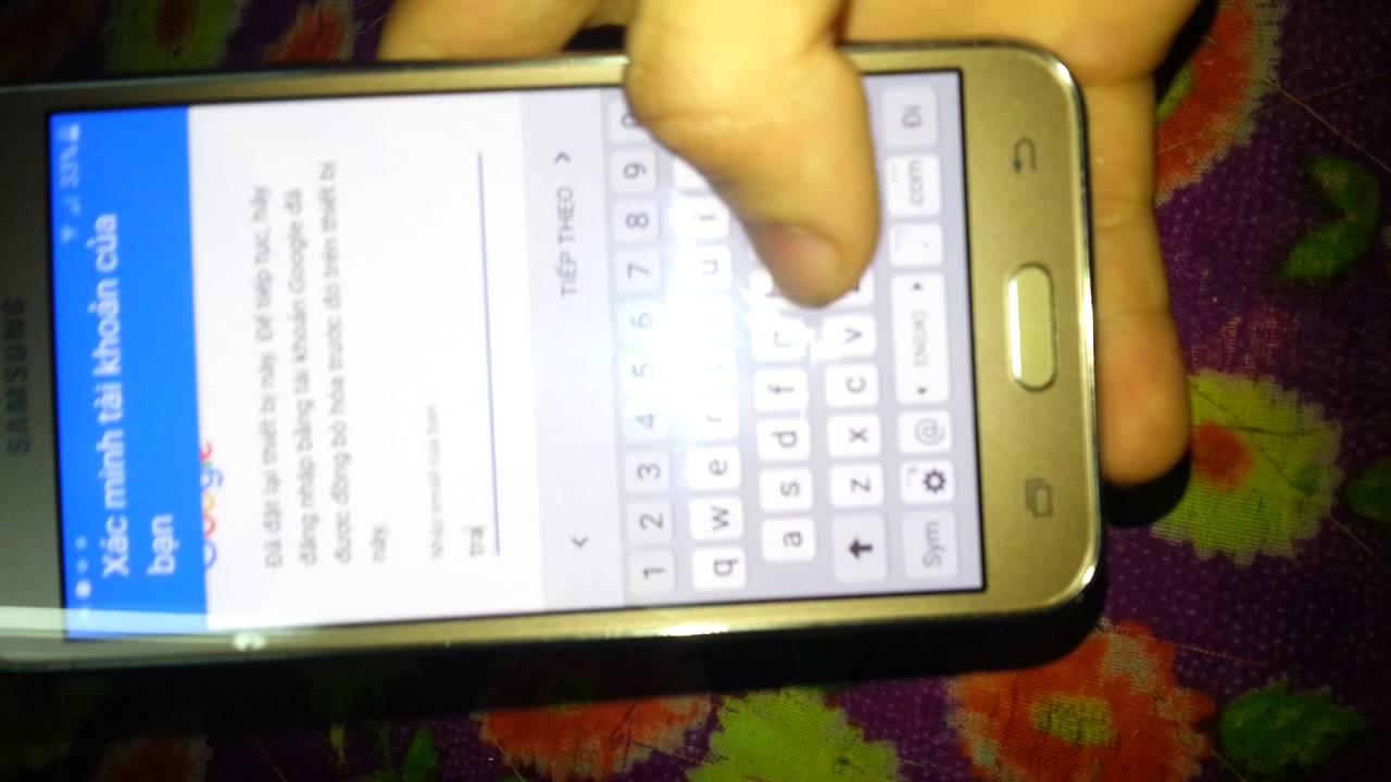 Xóa xác minh tài khoản google Samsung Note 5 N920C Hà nội