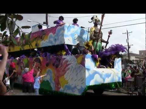 Mardi Gras 2012 | Fat Tuesday New Orleans | Zulu