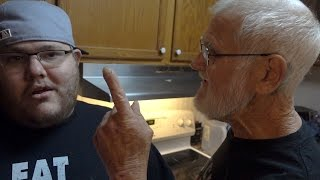 ANGRY GRANDPA SNAPPED!!