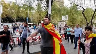 Santiago Abascal - Estamos en Barcelona y esto es lo que acabamos de presenciar.
