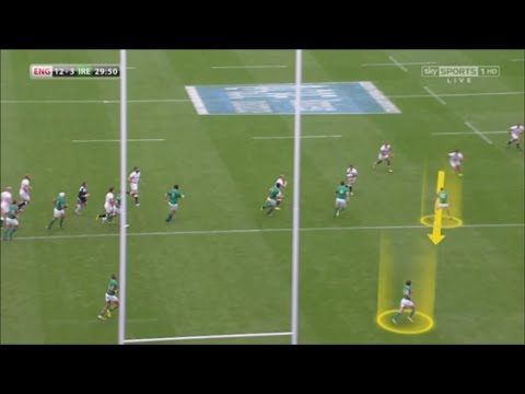 Rugby: How to DECOY AS INSIDE CENTRE - FIXING THE DRIFT DEFENCE Ft. Brad Barritt