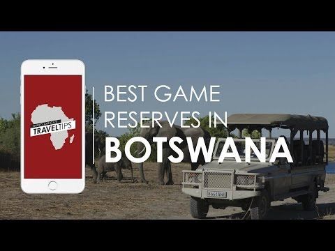 What are the best game reserves in Botswana? Rhino Africa's Travel Tips