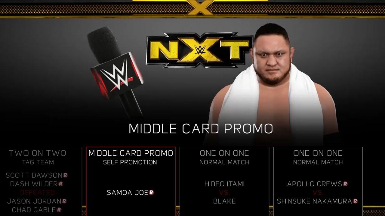 Download WWE 2K17 Universe Mode Customization & Edit Who Does Promo ✦ 【#WWE2K17QA】