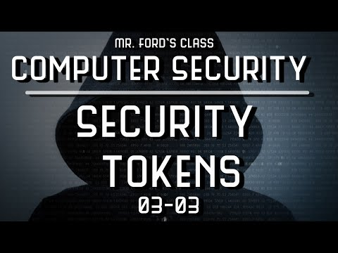 Security Tokens: How To Keep Your Computer Safe From The Bad Guys (03:03)