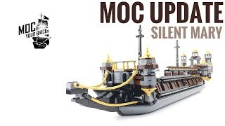 Lego Silent Mary MOC before ghost ship Update#1