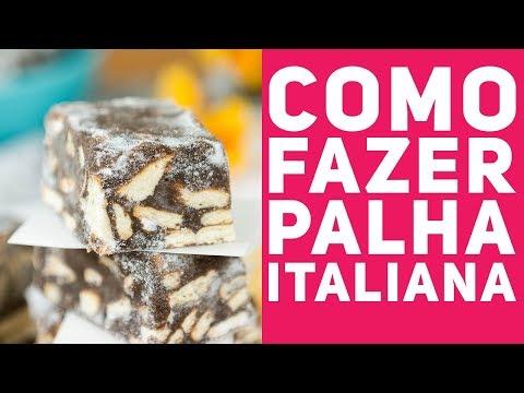 PALHA ITALIANA (Como fazer com passo a passo completo) - Receitas de Minuto EXPRESS #292