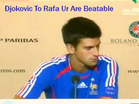 Djokovic To Nadal : You Are Not UnBeatable On Caly , You Are Beatable !!