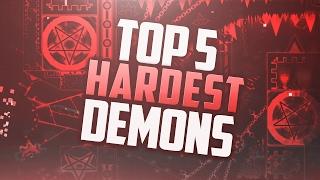 Geometry Dash [2.1] Top 5 Hardest Unverified Demons! thumbnail