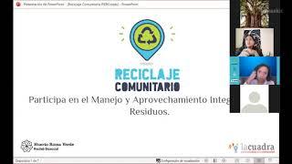 Mecánica del Programa Reciclaje Comunitario (parte 1)