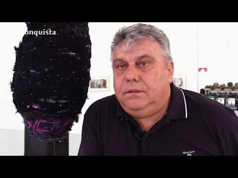 Arte  de Rico Sequeira homenageia operários do têxtil de Cebolais