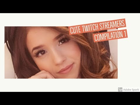 Cute Twitch Streamer Girls Compilation 1