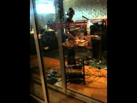 """Miriam in Siberia in studio...chitarra de """"i Fiori di Eleusi"""""""