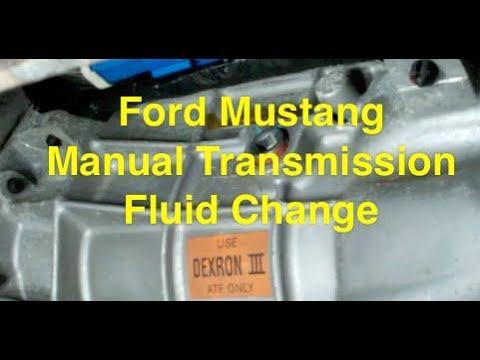 1967 mustang manual transmission fluid