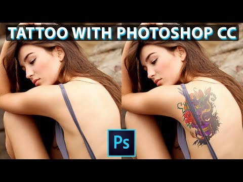 How To Add Tattoo With Easy Steps In Adobe Photoshop Tutorial In Hindi Art Balaghat thumbnail