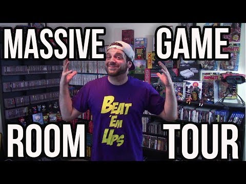 MASSIVE Game Room Tour - TONS of Video Games! | RGT 85 50K Subscriber Special