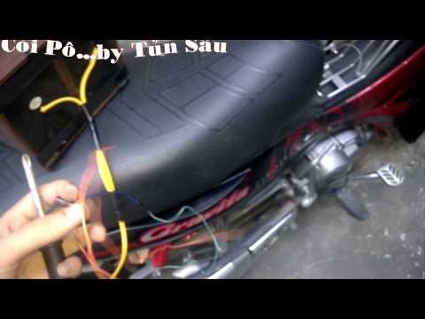 Còi Pô xe máy Xe Đạp Điện
