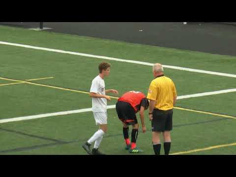 Arlington High School Boys Varsity Soccer vs Woburn Memorial High School - Sept. 18, 2017